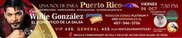Una noche para Puerto Rico - Willie Gonzalez