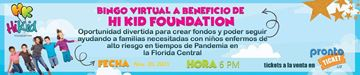 3er. Bingo Virtual Hi Kid Fundation