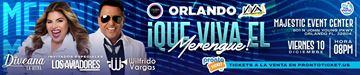 Que Viva El Merengue - Orlando